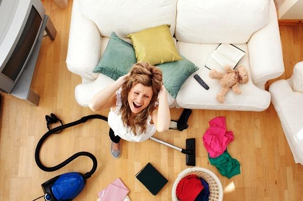 Как сделать уборку в комнате за 5 минут