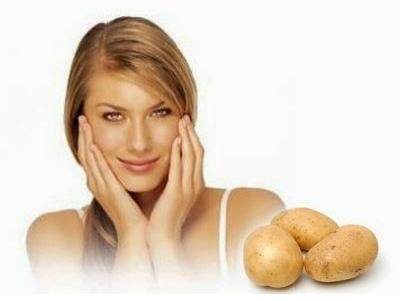 Маска дряблой кожи из картофеля от морщин