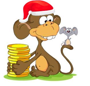 как встречать новый 2016 год обезьяны приметы