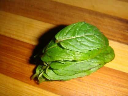 2 - Складываем листья мяты-min