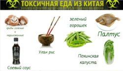 еда из Китая