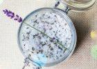 Миниатюра к статье Соляной скраб с лавандой, маслом сладкого миндаля и маслом жасмина