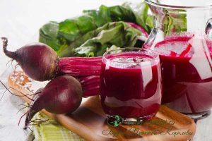 Миниатюра к статье Свекольный сок: польза и вред. Лечение онкологии. Прием при фибромиоме, пороке сердца. Свекольный сок с медом. Рецепты