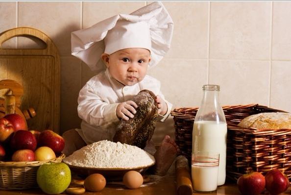 как готовить с маленьким ребенком