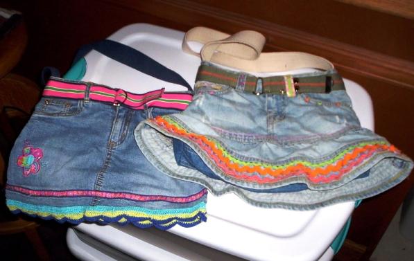 вещи из винтажных джинс