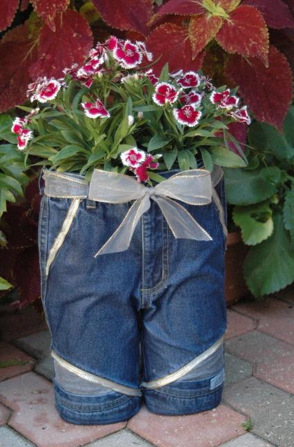 джинсы в хозяйстве