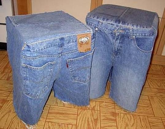джинсы старые