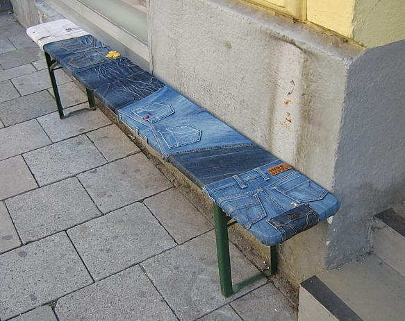 поделки из джинсов