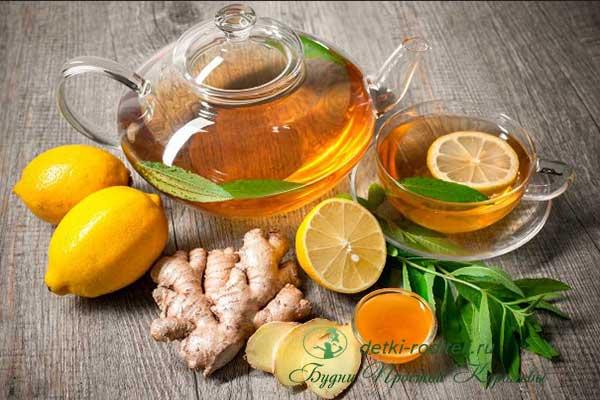 Как-приготовить-чай-с-лимоном-и-имбирем