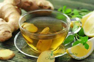 Миниатюра к статье Чай с имбирем. Польза и вред. Как заваривать. Рецепты и применение