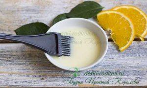 Миниатюра к статье Апельсиново-медовая маска для жирных волос: домашняя косметика