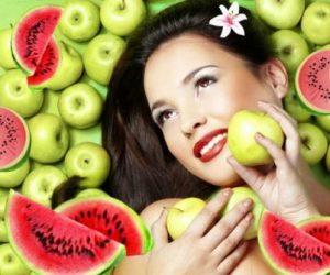 Миниатюра к статье Осенние домашние маски из арбуза и яблок